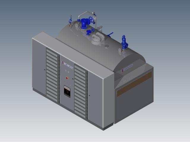 Elektrisk elementkjel, utviklet og produsert av Peder Halvorsen AS